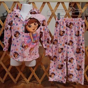 3t Dora the Explorer pajamas
